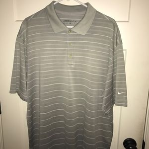 Gray Nike Men's Golf Shirt